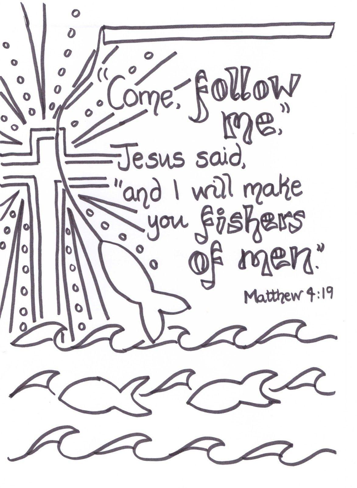 Free Scripture Doodles 3 Gospels