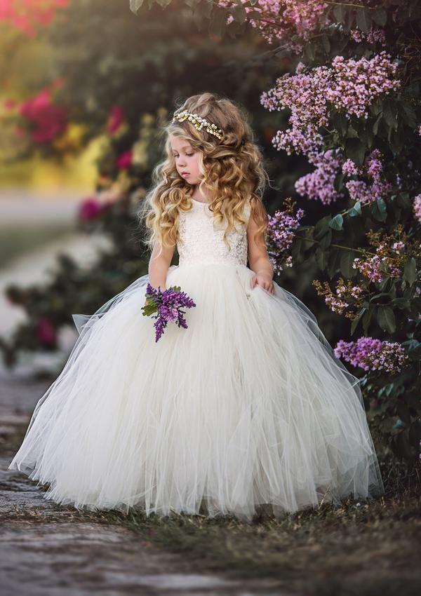 515e6cec2fa9 Pink and Grey Flower Girl Tutu Dress in 2019 | Flower Girl Dresses | Wedding  dresses for girls, Girls tutu dresses, Dresses kids girl