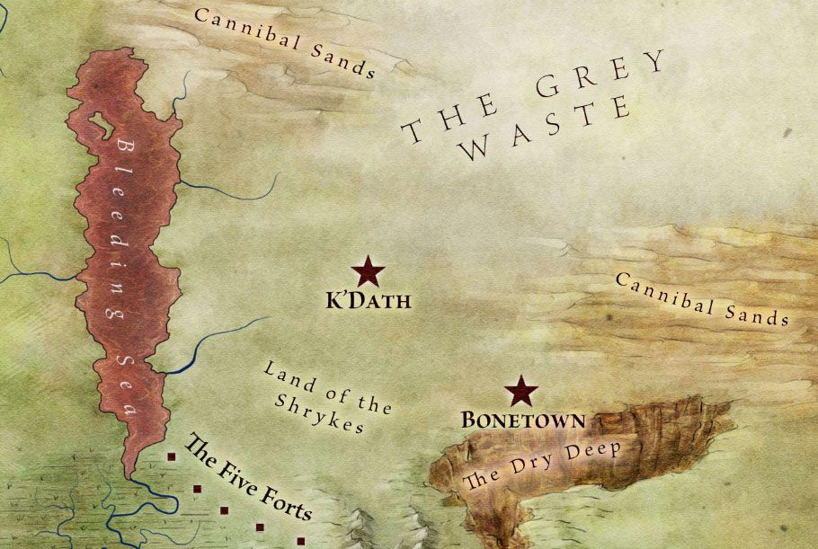 Official World Map of A Song of Ice and Fire  George rr martin
