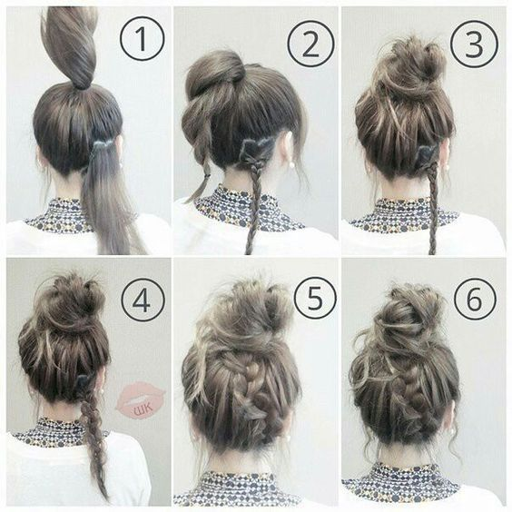 62 Easy Hairstyles Step by Step DIY -   15 quick hairstyles ideas