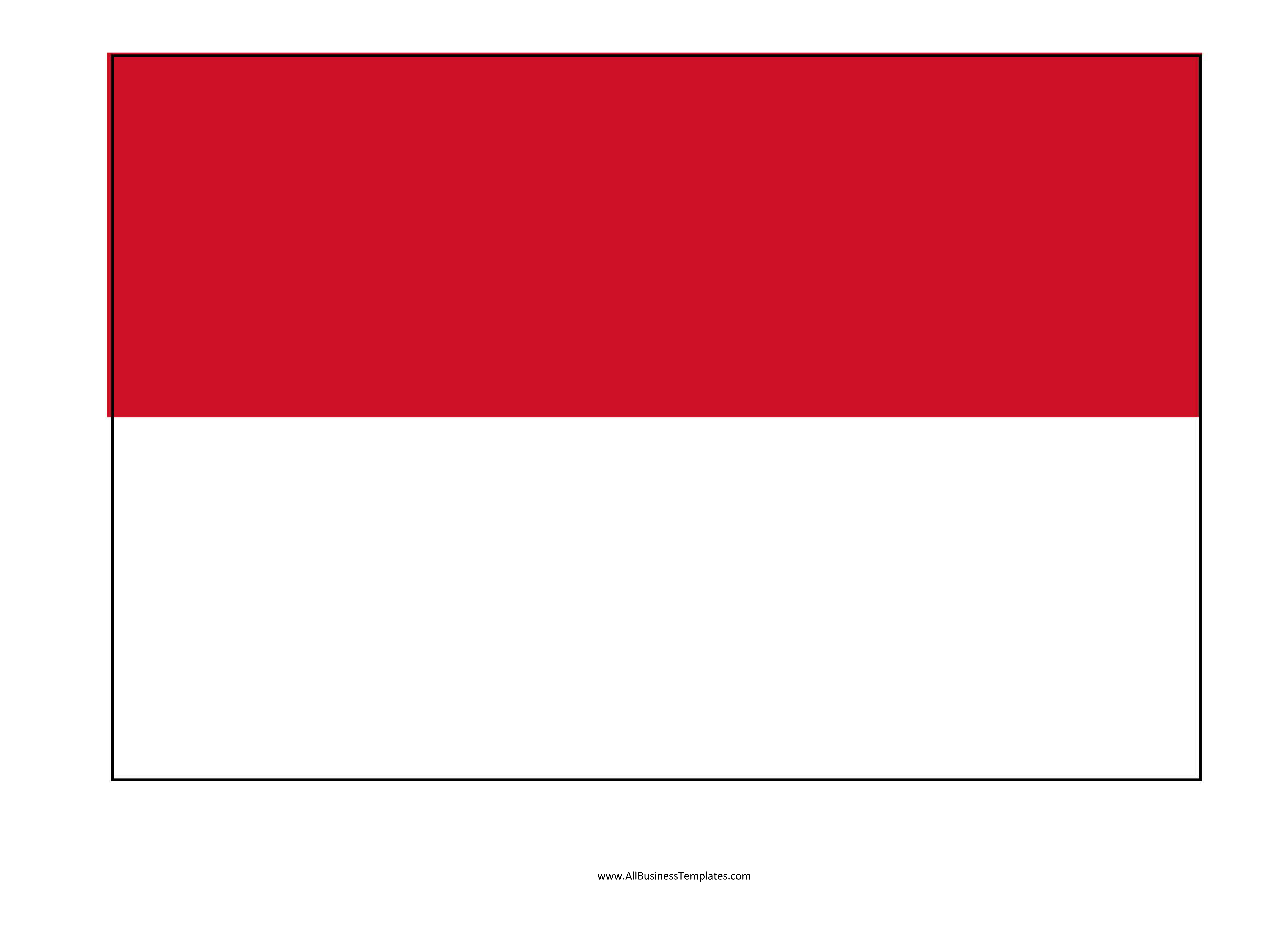 Indonesia printable flag - Download this Indonesia printable ...