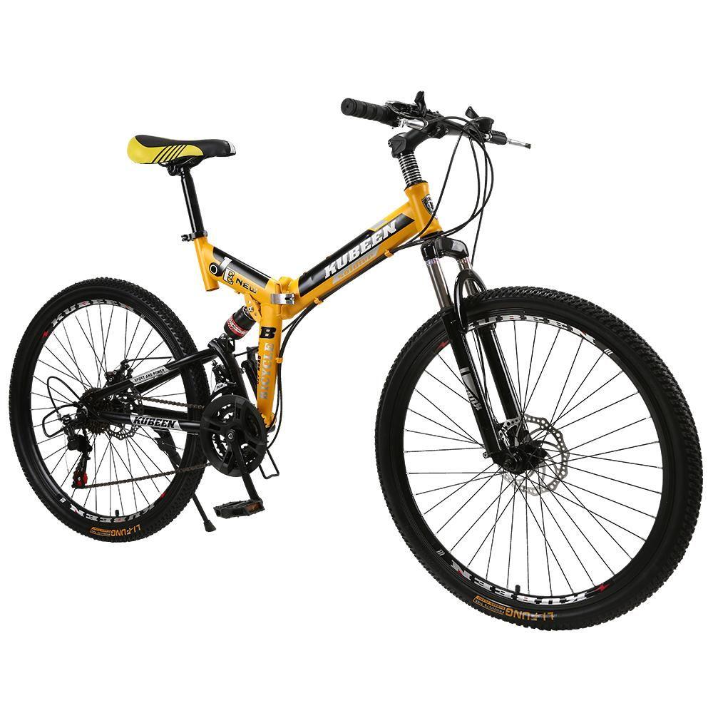 KUBEEN mountain bike 26inch steel 21speed bicycles dual