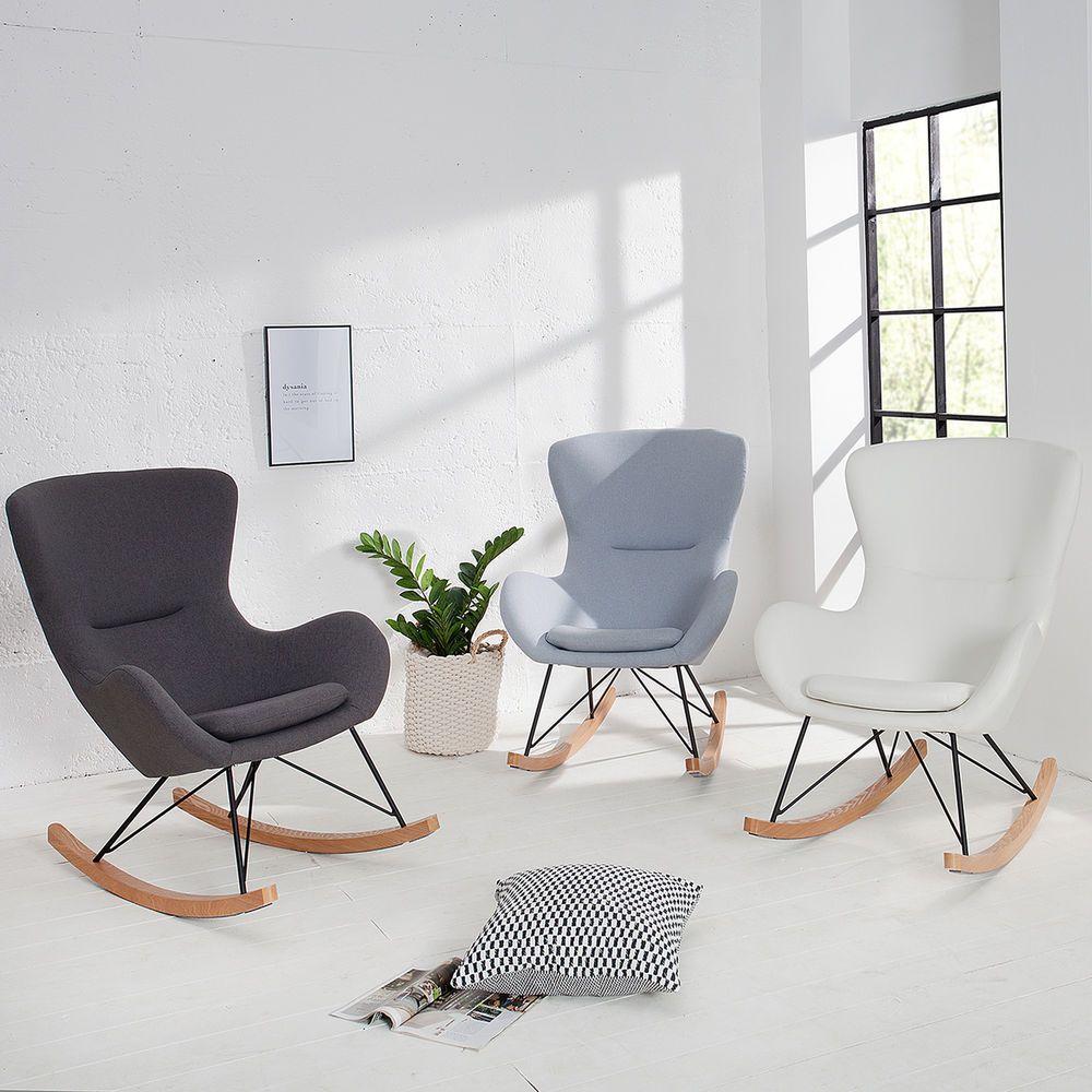 Details zu design schaukelstuhl scandinavia swing farbwahl for Design sessel scandinavia