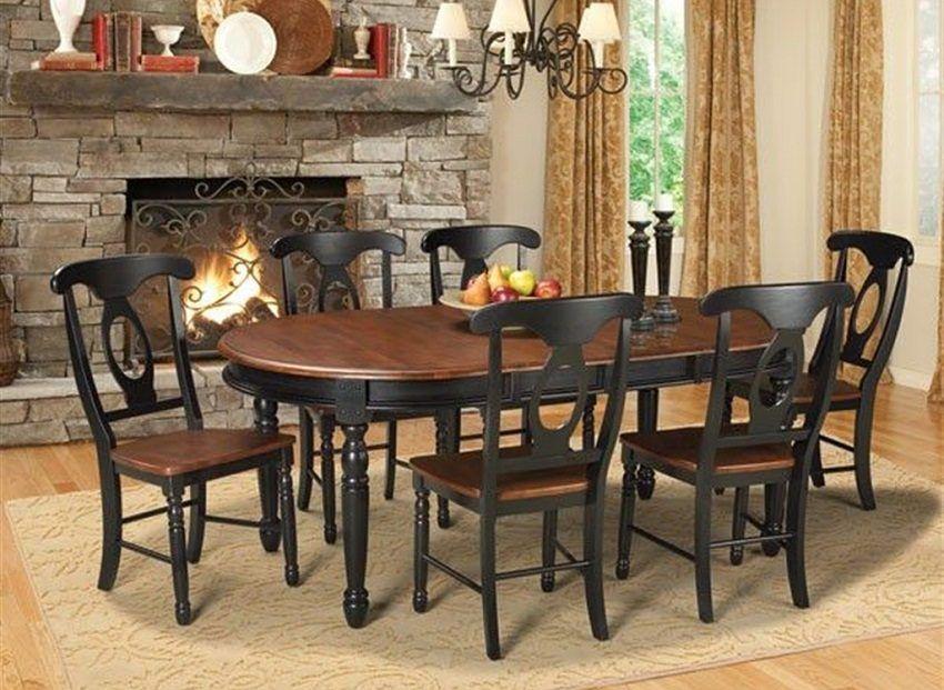Salón comedor inglés   Muebles   Solid wood dining set, Dining room ...