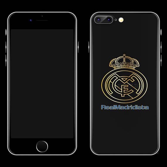 Real Madrid Logo In 2 Sizes For Any Vinyl Decal Iphone Decal Iphone Decal Cell Phone Decals Cell Phone Stickers