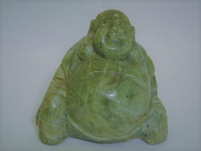 Fine Antique Vintage Chinese Hand Carved Jade Green
