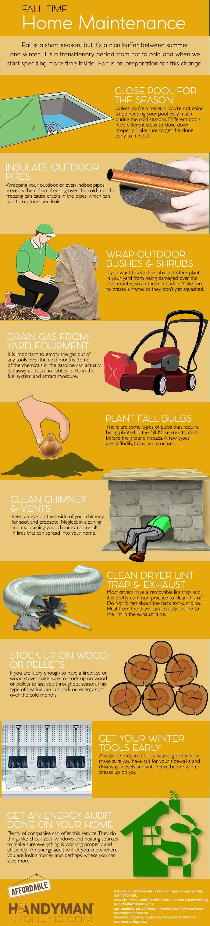Photo of Fall Home Maintenance Checkliste