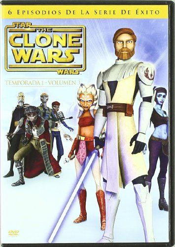 Star Wars The Clone Wars Temp1 Vol3 Import Movie European Format Zone 2 2009 Varios You Can Find More Star Wars Episode Ii Clone Wars Star Wars Clone Wars