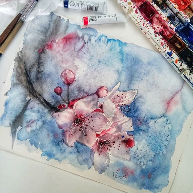 Yana Shvets On Instagram Became A Victim Of That Famous Artist Burn Out Felt Like I Couldn T Lift A Brush For A Few Weeks Famous Artists Botanical Artist
