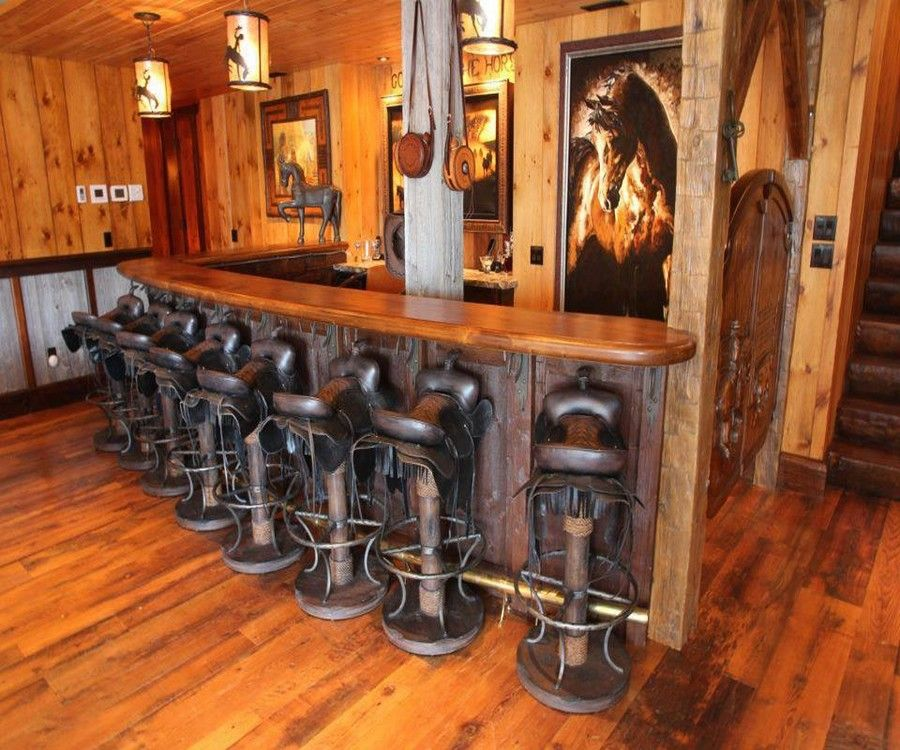 Western Bar Designs | Back to Post :Find Western Bar Stools for ...
