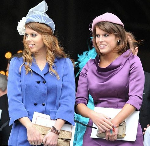 Princesses Beatrice And Eugenie Of York Daughters Of Prince