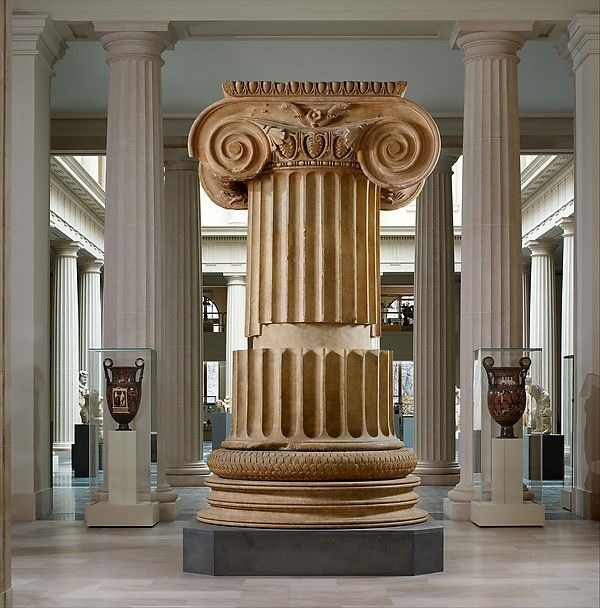 British museum collection the ionic columns are huge for Artemis decoration