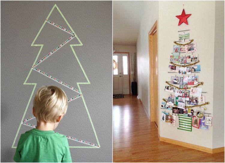 árvore-de-natal-feita-com-adesivo-e-fotos.jpg (750×543)