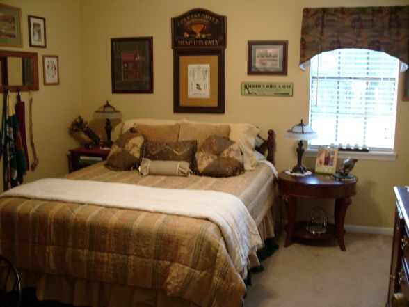 Golf Room, Guest Room With A Golf Theme, , Bedrooms Design