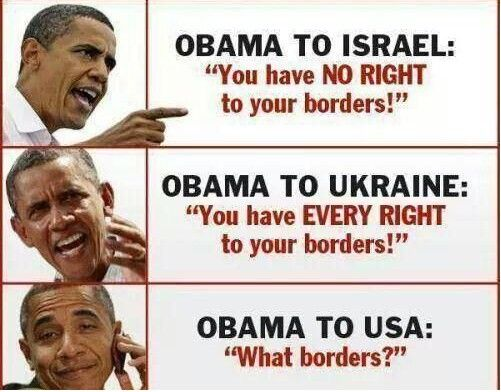 8c7099d63ae41cdd9428b69660dd3cdc funny this obama meme sums up immigration policy perfectly,Anti Immigration Memes