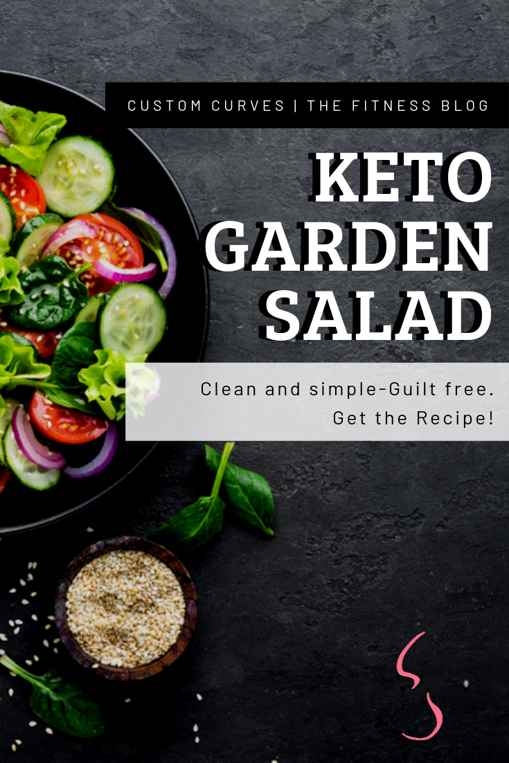 VEGAN KETO GARDEN SALAD Yes we are aware--keto is the new thing everyone is into--you don't have to but it doesn't hurt to join the bandwagon. This recipe is great because it is simple and easy an LITERALLY no cook time. completely fresh and read in minutes. Best thing it is about it is gluten free!