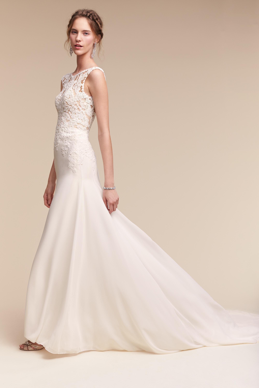 BHLDN Melanie Gown in Bride Wedding Dresses Mermaid | BHLDN ...