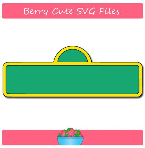 sesame street sign svg file by berrycutesvgfiles on etsy cricut rh pinterest com