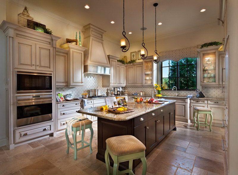 Open Kitchen Designs with Islands   Galley Kitchen With Island Floor ...