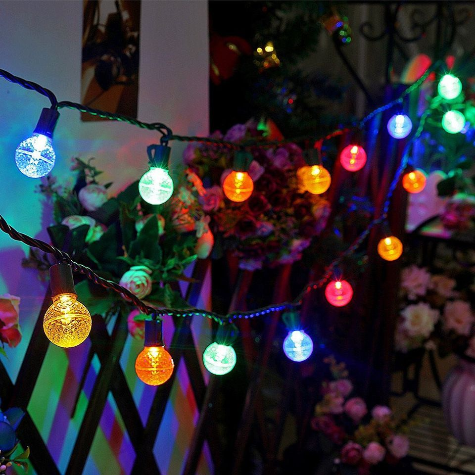 Outdoor String Lights Globe G30 colored led globe christmas lights13 ft 25 count outdoor string g30 colored led globe christmas lights13 ft 25 count outdoor string lightssteady on holiday lights workwithnaturefo