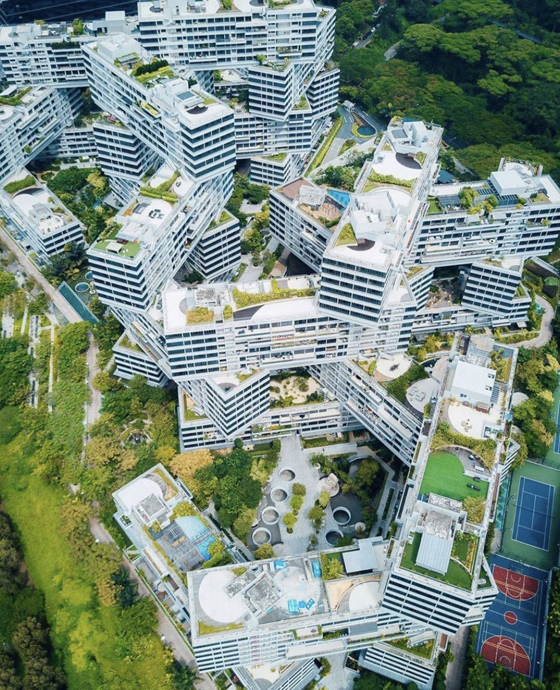 The interlace in 2020 Instagrammable places, Visit