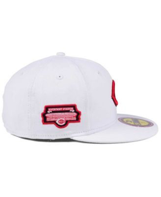 newest ef785 9fe2b New Era Cincinnati Reds The Ultimate Patch Collection Stadium 59FIFTY Cap -  White 7