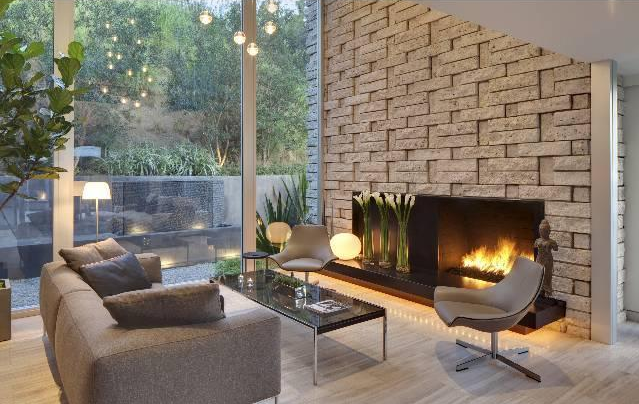 Mid Century Modern Fireplaces images of mid century modern fireplaces | the open floor plan