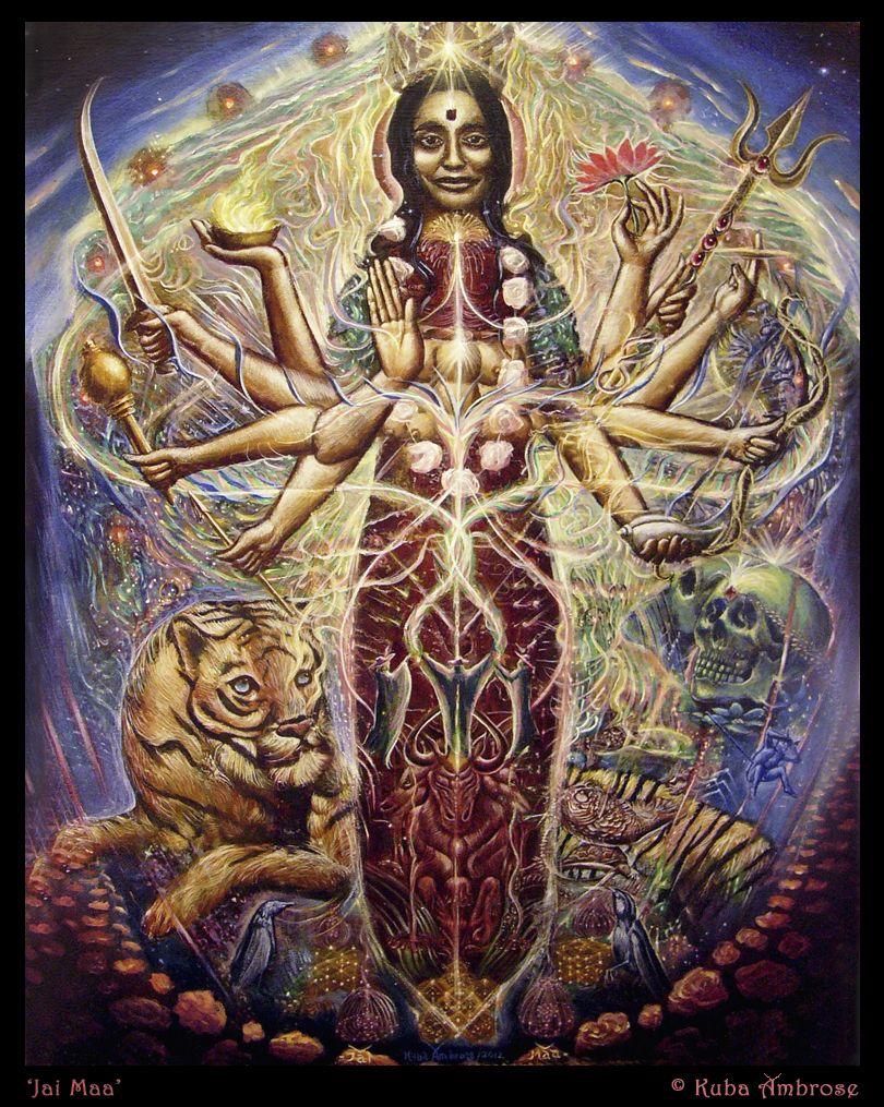 Goddess Spiritual Art Visionary