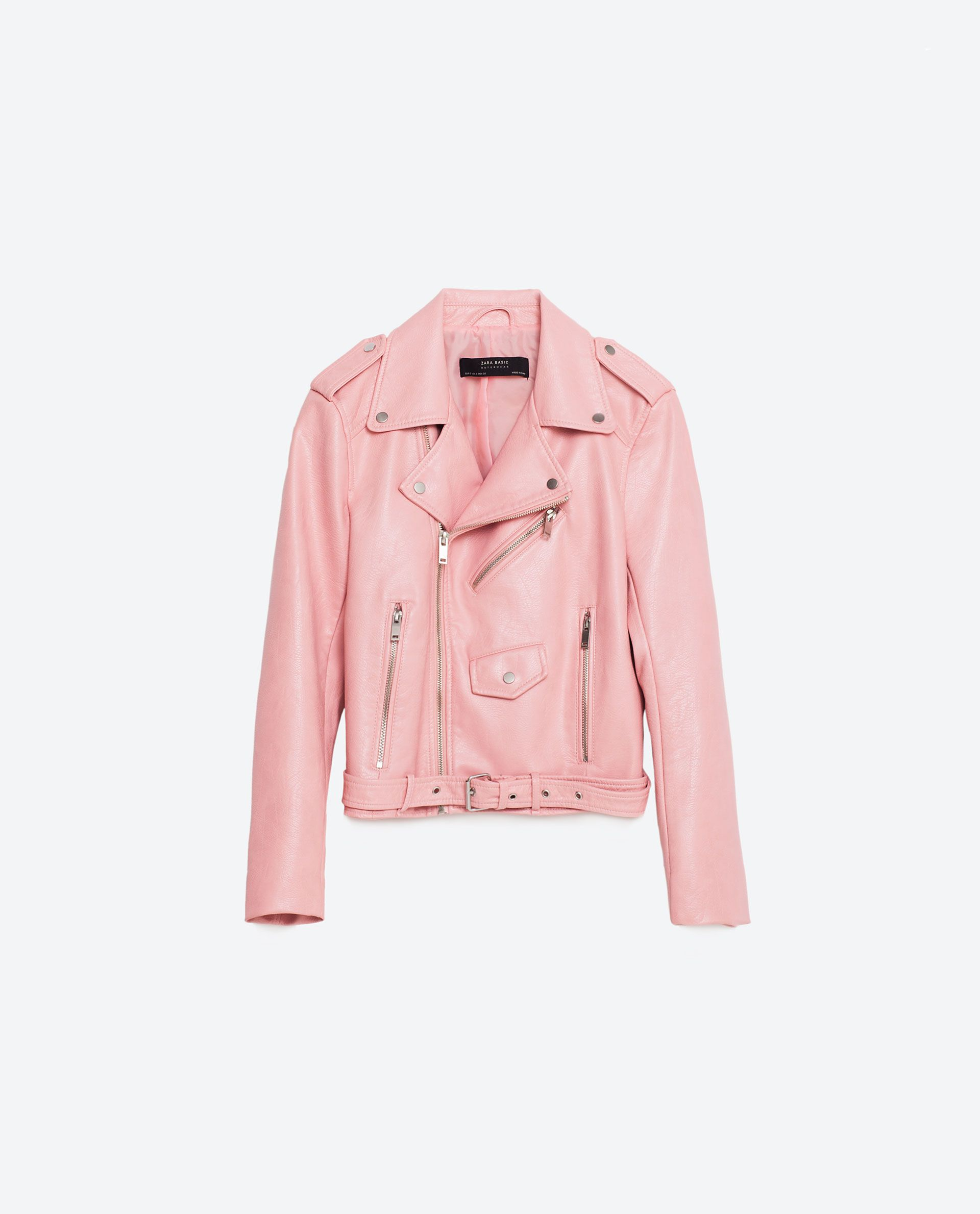 Cazadora Efecto Piel Ver Todo Mujer Ultima Semana Leather Jackets Women Womens Fashion Jackets Leather Jacket Style [ 2379 x 1920 Pixel ]