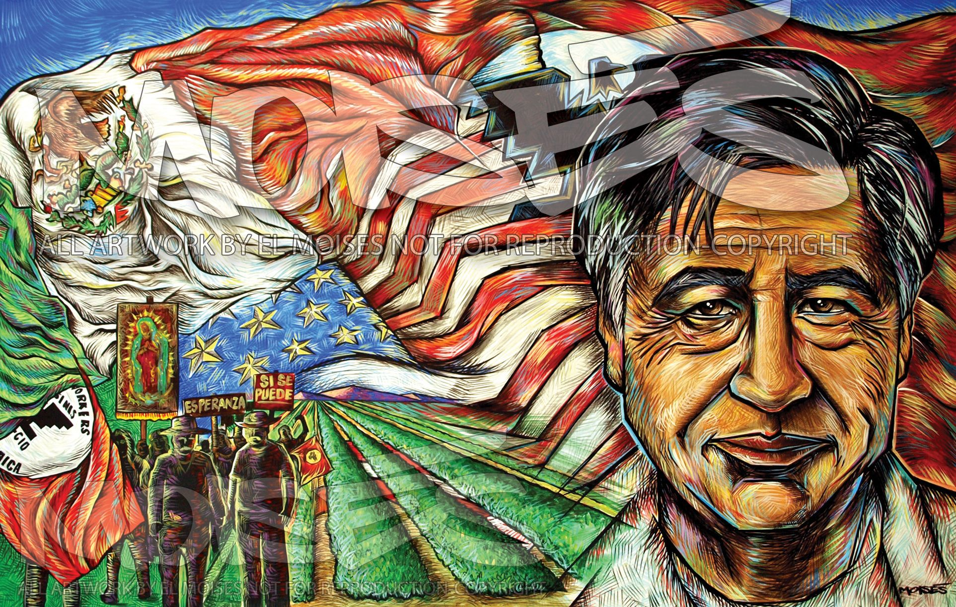 Cesar Chavez By Moises