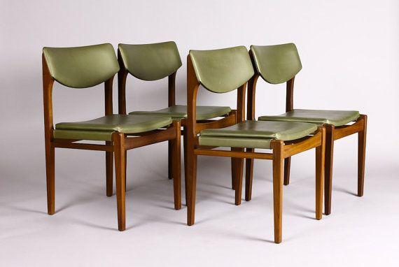 Danish Modern Mid Century Modern Dining Chair By Atomicthreshold