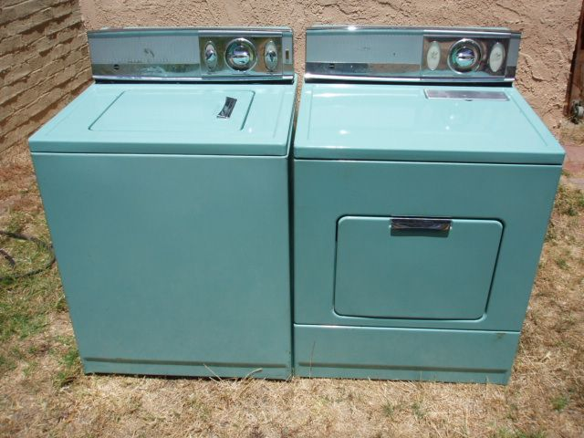 1965 Blue Kenmore Washer Dryer Weekend Find Kenmore Washer Washer And Dryer Vintage Laundry