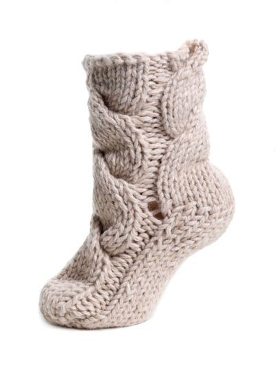 The Ultimate Bed Socks In Chunky Wool This Knitting Pattern Is A