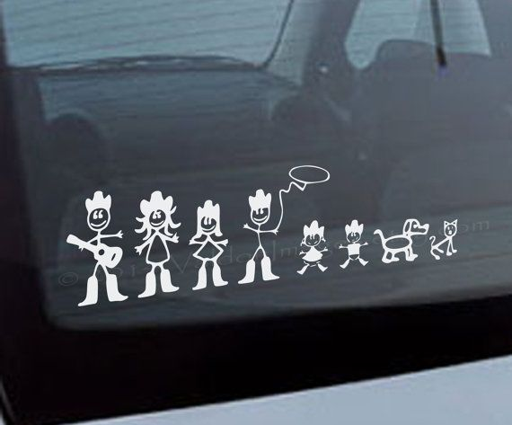 Hey I Found This Really Awesome Etsy Listing At Httpswwwetsy - Family car sticker decalsfamily car decal etsy