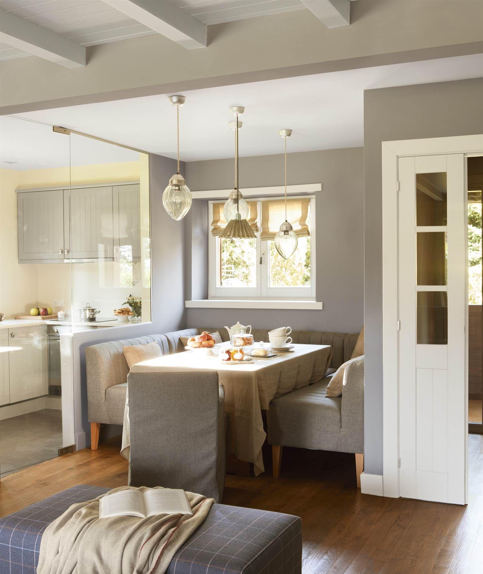 Cómo aprovechar espacios pequeños desde 1 m2 | Banco tapizado ...