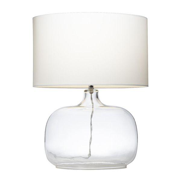 Kichler Lighting 1-light Clear Glass Table Lamp ****UPPER BEDROOM