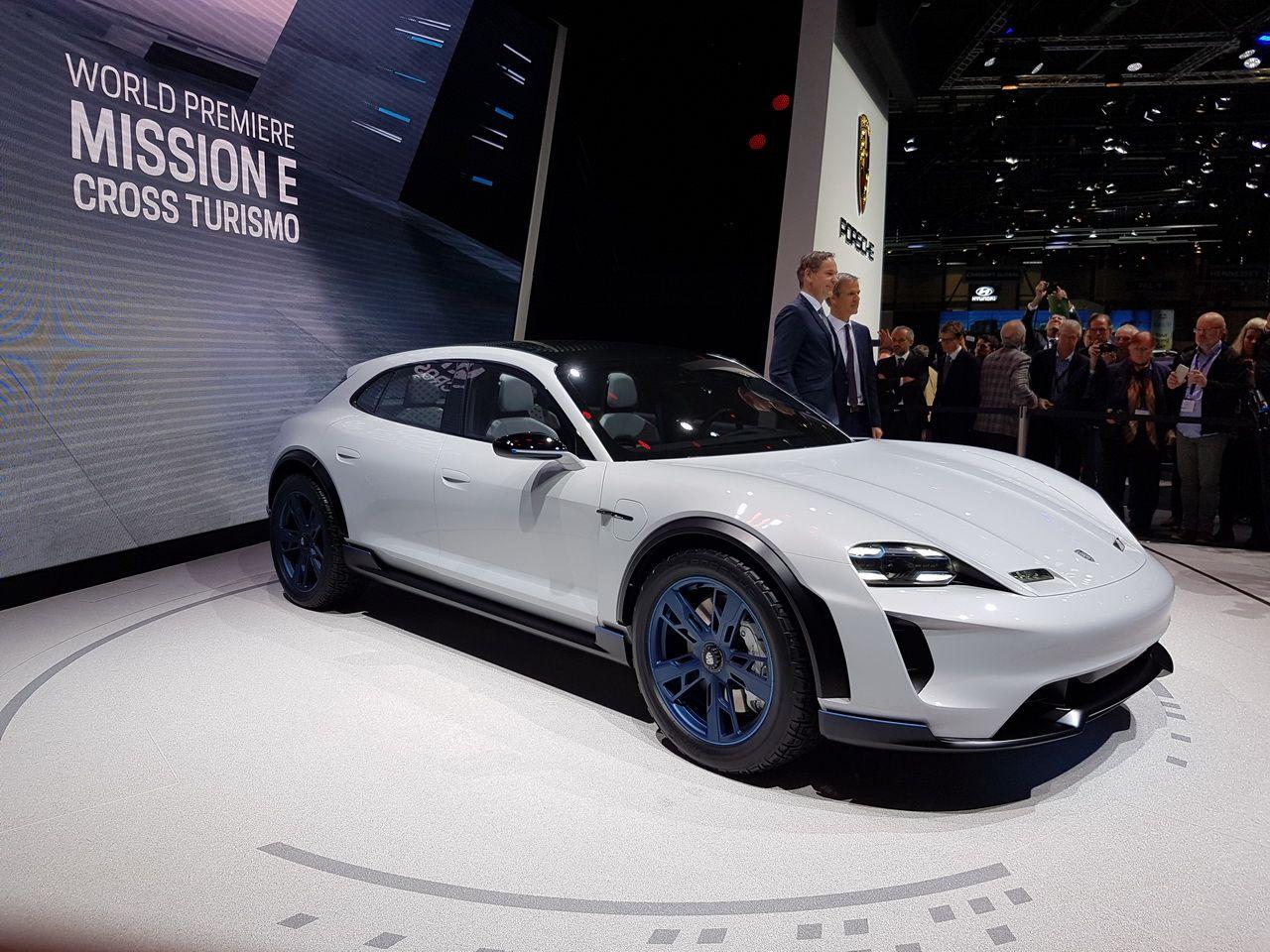 Porsche Mission E Cross Turismo Concept Au Salon De Genève 2018