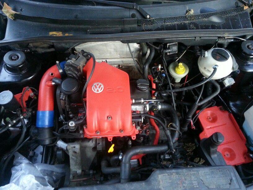 My ABA 2.0L engine in my MK3 Golf.... | Golf gti, Golf ...