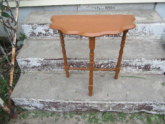 bois courbé antique Vintage chevet demi de couloir stand décor victorien on Etsy, 38,62$ CAD