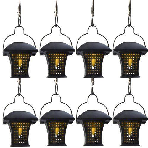 Moonrays 91278mc Umbrella Hanging Solar Lantern 8 Pack 2017 Top Rated