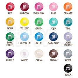 Choose a color and get a bulk bag of M&M's in only that solid color!  Having…
