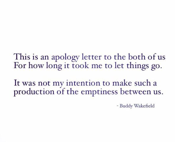 An apology letter to the both of us therapeutic Pinterest - how to make an apology letter