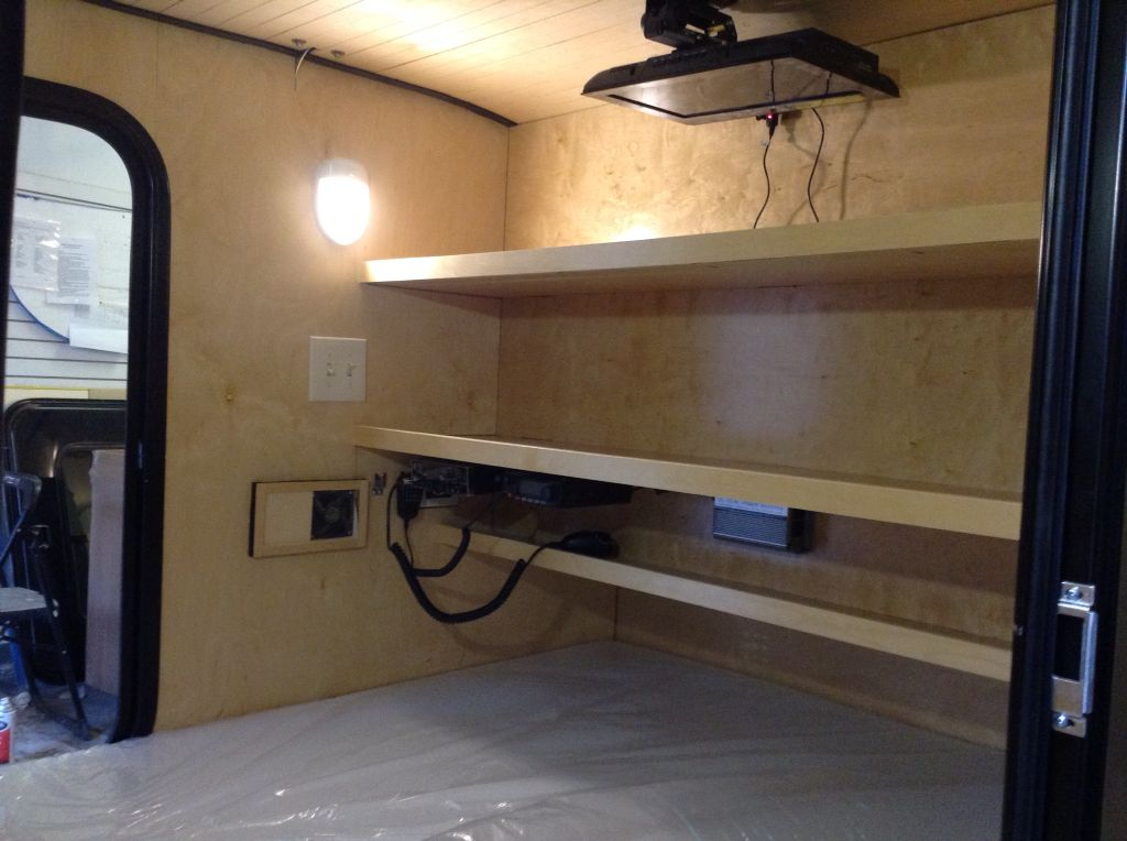 Design Your Teardrop Interior With What You Need This Cozy Mount