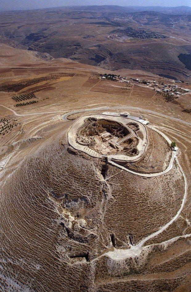ISRAELI ARCHAEOLOGISTS DISCOVER ROYAL PASSAGEWAY TO KING HEROD'S HILLTOP PALACE Ya'akov Sa'ar/GPO via Getty Images