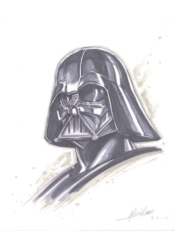 Darth Vader by Alvin Lee