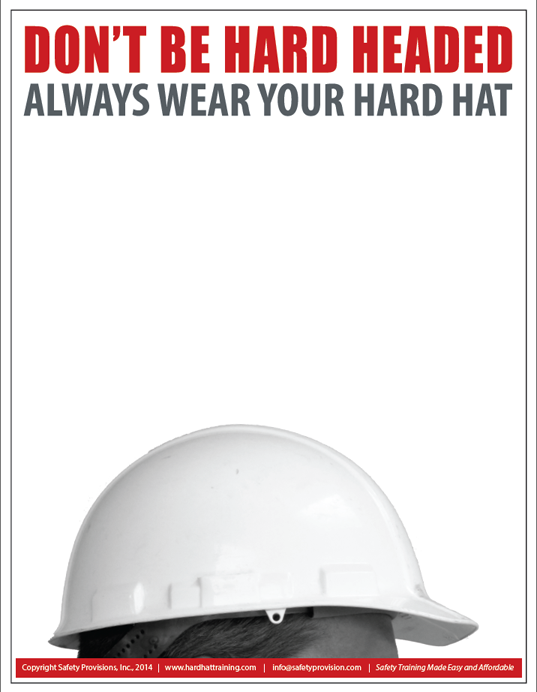 Safety Posters Hard Hat Training Safety Posters Health And Safety Poster Safety