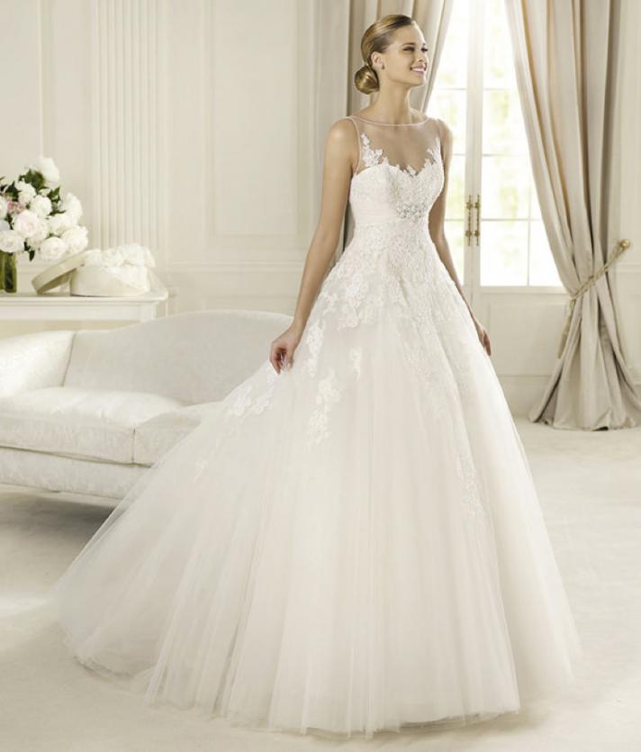 Honey Buy Pronovias Romantic 2013 Wedding Dresses