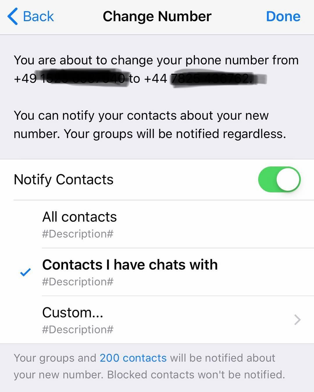Dating contacts whatsapp WhatsApp fraud:
