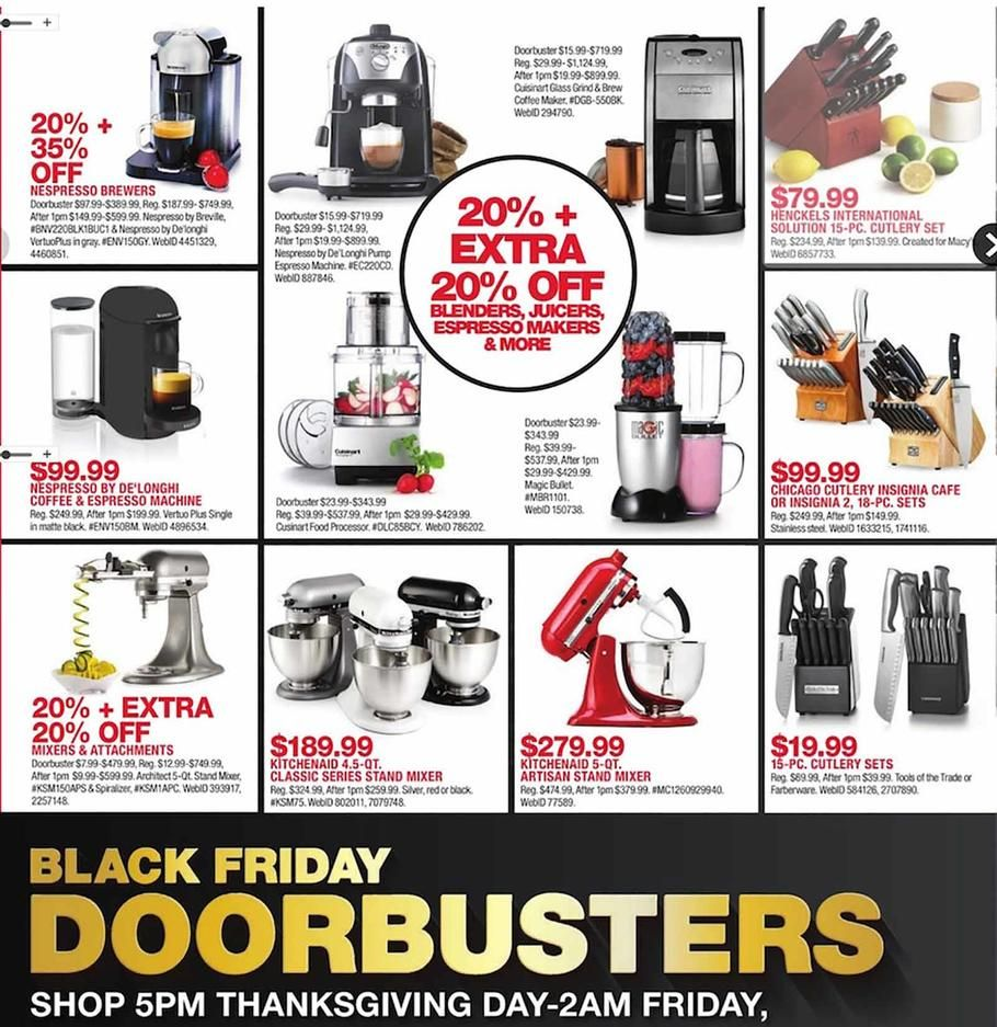 Macy S Black Friday 2018 Ads Scan Deals And Sales See The Macy S Black Friday Ad 2018 At 101blackfriday Com Find Th Macys Black Friday Black Friday Ads Macys