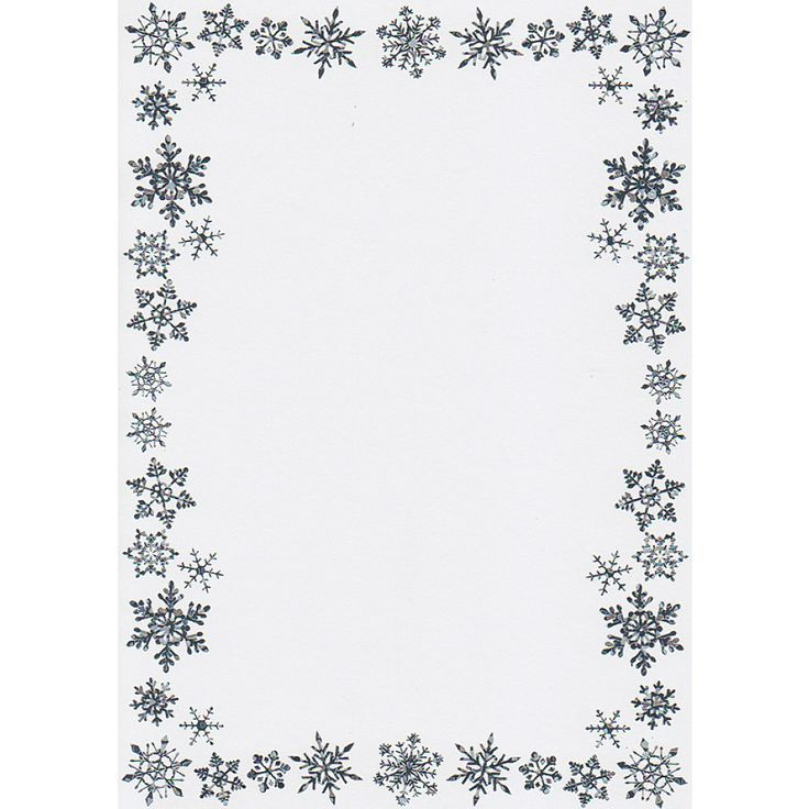 Snowflake Border - Google Search | Svg Files | Pinterest